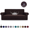 Waterproof Sofa Cover Solid Stretch Slipcover All-inclusive Elastic Couch Cover L Shaped Loveseat Armchair Stretch Slipover Stretch 1/2/3/4 Seater