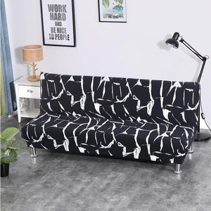 All-inclusive Folding Stretch Sofa Bed Cover Tight Wrap Sofa Rekbare Kaft Couch Cover Without Armrest Elastic Slipcover Sofa Protector Cover - HomeSofaCover
