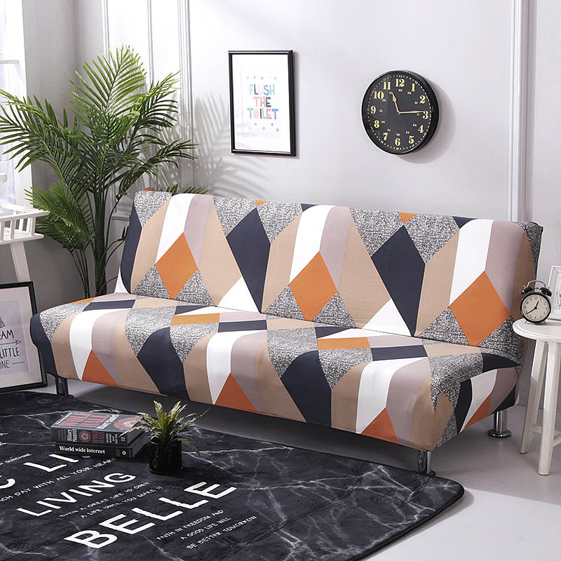 Universal Sofa Bed SlipCovers Cover Stretch Magic Couch Cover Stretch Sofa Funiture Sofa Cover Without Armrest Cover for Sofa Bed Cover - HomeSofaCover