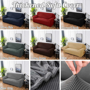 Sofa Slipover Top Quality NEW Winter 1/2/3/4 Seater Thickened Elastic Stretch Slipcovers sofa cover Couch Cover Case Cover Living Room - HomeSofaCover
