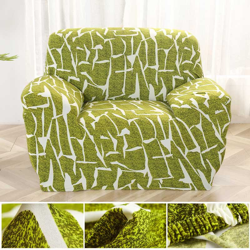 Armchairs Slipcover Pattern Single Sofa Cover Cotton Stretch Elastic Sofa Covers for living Room Copridivano Slipcover for Armchairs couch cover - HomeSofaCover