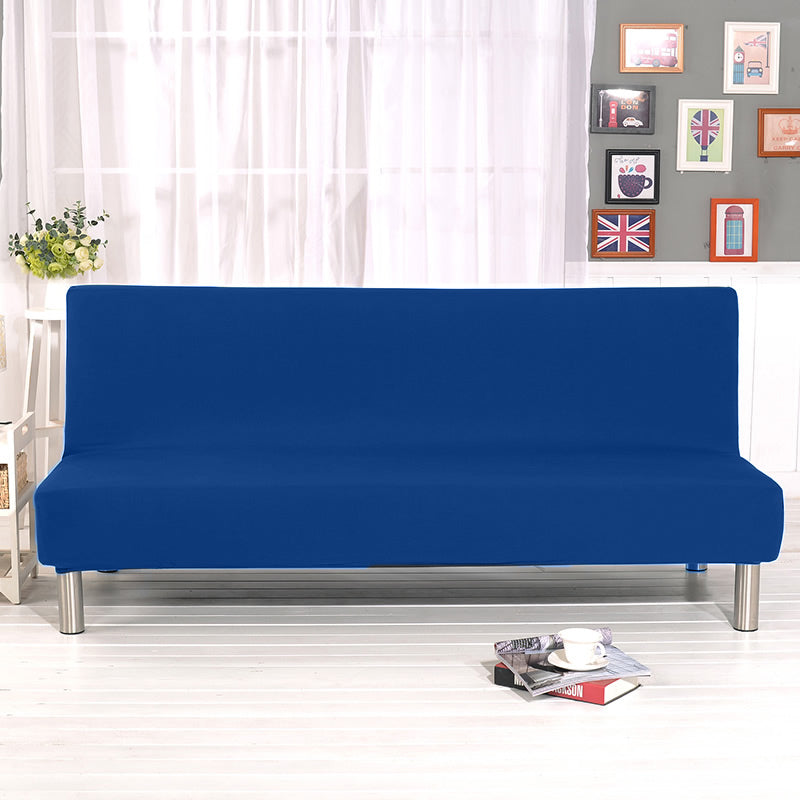 Universal Armless Sofa Bed Cover Folding Modern seat slipcovers stretch covers Couch Protector Elastic Futon Cover Wrap Elastic Slipcover - HomeSofaCover