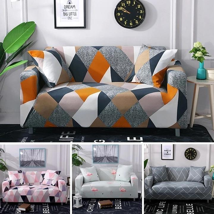 Stretch Slipcovers Stretchable - Patterns HomeSofaCover Sectional Elastic Stretch Sofa Cover for Living Room Couch Cover L shape Armchair Cover - HomeSofaCover