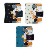 Shagwear Kitty Crowd Small Zipper Wallet