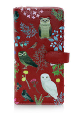 Wildbird Forest Large Women's Zipper Wallet
