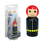 Marvel Black Widow Wooden Pin Mate Figure #81