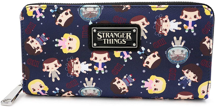 Stranger Things Eleven AOP Faux Leather Wallet