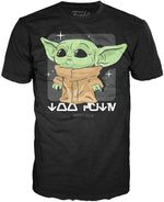 POP Tees: The Mandalorian-Child Lookin Cute Shirt, XL