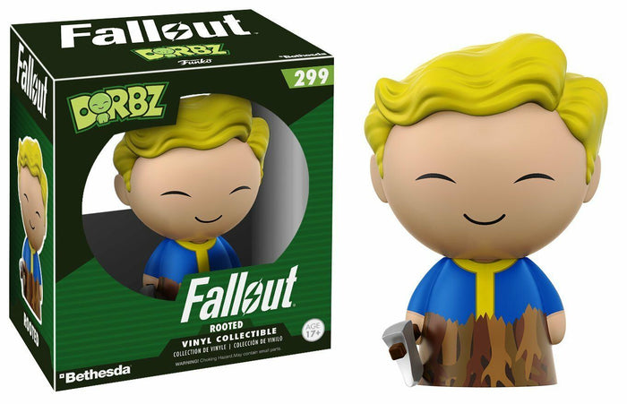 Funko Dorbz: Fallout Vault Boy #299 Rooted Vinyl Figure