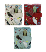 Wild Bird Forest Small Zipper Women's Wallet
