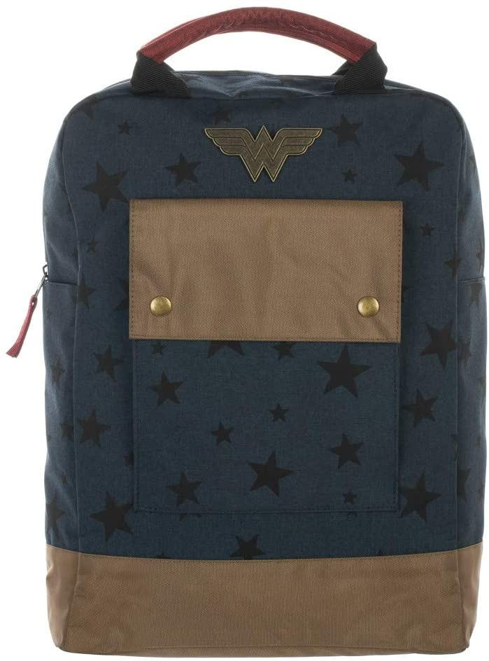 Wonder Woman Stars Tote Tech Backpack