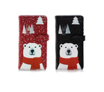 Shagwear True North Polar Bear Large Zipper Wallet