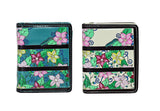 Shagwear Caterpillar Garden Small Snap Zipper Women's Wallet