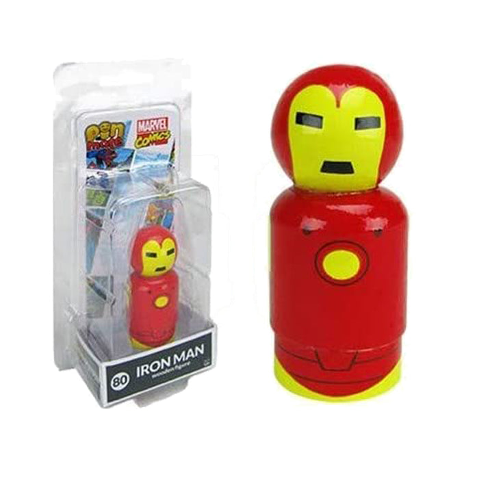 Marvel Iron Man Pin Mate Wooden Figure #80