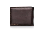 Shagwear Vintage Anchor Men's Bi-Fold Wallet, Brown