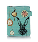 Pocket Watch Rabbit Small Zipper Wallet