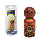 Marvel Black Panther Okoye Wooden Pin Mate Figure #74