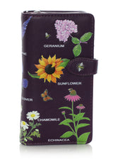 Wildflowers Large Women's Zipper Wallet