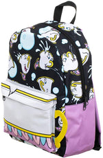 Disney Beauty and the Beast Chip Print Backpack