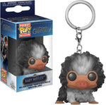 POP Keychain: Fantastic Beasts 2-Baby Niffler Grey