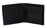 T-Rex Dinosaur Men's Bifold Wallet, Black