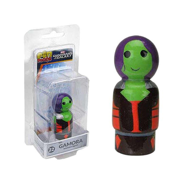 Marvel GOTG Gamora Wooden Pin Mate Figure #22