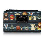 Loungefly Disney Lion King Chibi Characters Tribal AOP Snap Wallet