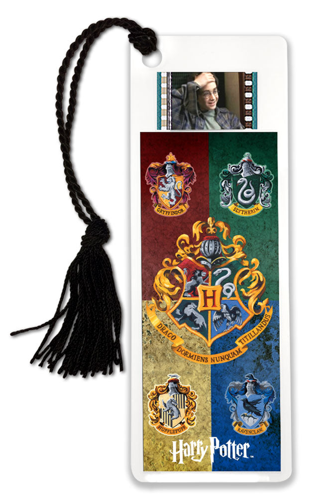 Harry Potter Hogwarts House Banners FilmCells Bookmark