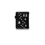 Shagwear True North Polar Bear Small Zipper Wallet, Black