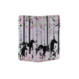 Shagwear Forest Horse Large Zipper Women's Wallet, Pink