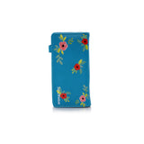 Shagwear Chilin' Sloth Large Zipper Women's Wallet, Teal
