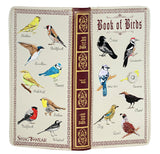 Shagwear Book of Birds Large Zipper Bi-Fold Wallet, Cream
