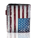 Shagwear USA Flag Small Zipper Women's Wallet