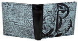 Shagwear Octopus News Men's Faux Leather Bifold Wallet