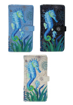 Shagwear Sea Horse Large Zipper Wallet