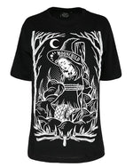Burn the Witch Gothic Women's Oversized Shirt
