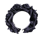 Black Roses Gothic Headband, Wreath, Garland Headpiece