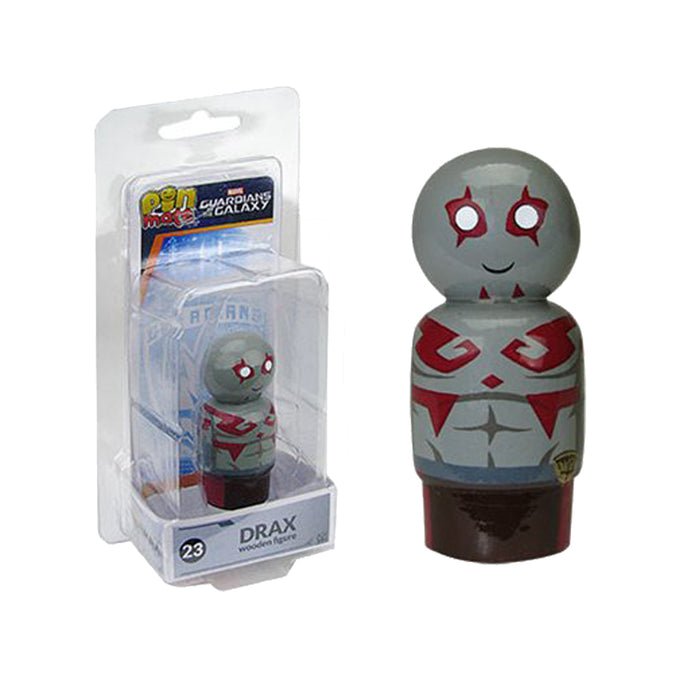 Marvel GOTG Drax Wooden Pin Mate Figure #23