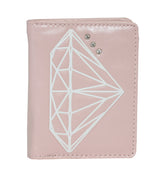 Shagwear Diamond Small Snap Women's Wallet, Pink