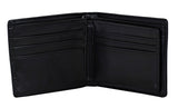 Shagwear Wave Hunter Men's Bi-Fold Faux Leather Wallet