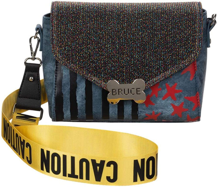 Birds of Prey Harley Quinn Caution Tape Purse