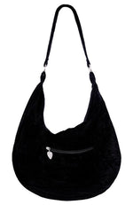 Gothic White Branches Hobo Bag