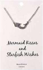 Shagwear Mermaid Kisses and Starfish Wishes Necklace