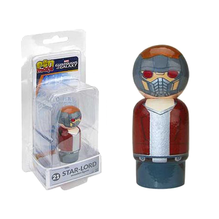 Marvel GOTG Star Lord Wooden Pin Mate Figure #21