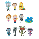 Rick and Morty Bundle: Weaponized Rick Pop! Figure and 2 3D Figural Keyrings
