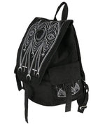 Gothic Cathedral Suede Backpack