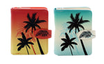 Palm Trees Small Zipper Women's Wallet
