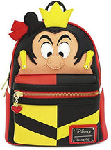 Disney Queen of Hearts Faux Leather Mini Backpack