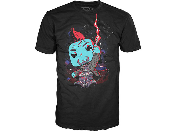 POP Tees: Marvel - Yondu with Umbrella Unisex T-Shirt, Black