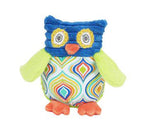 Maison Chic Ollie Owl Rattle, Blue